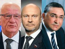 Юрий Берг, Сергей Катасонов, Петр Капишников