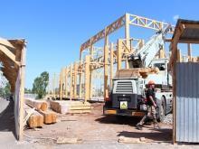 Строительство Центра восточных единоборств в Оренбурге
