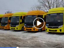 новые автобусы в Оренбурге