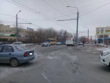 ДТП с пешеходом в Оренбурге